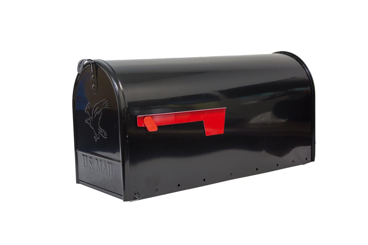 Black E-1 Mailbox
