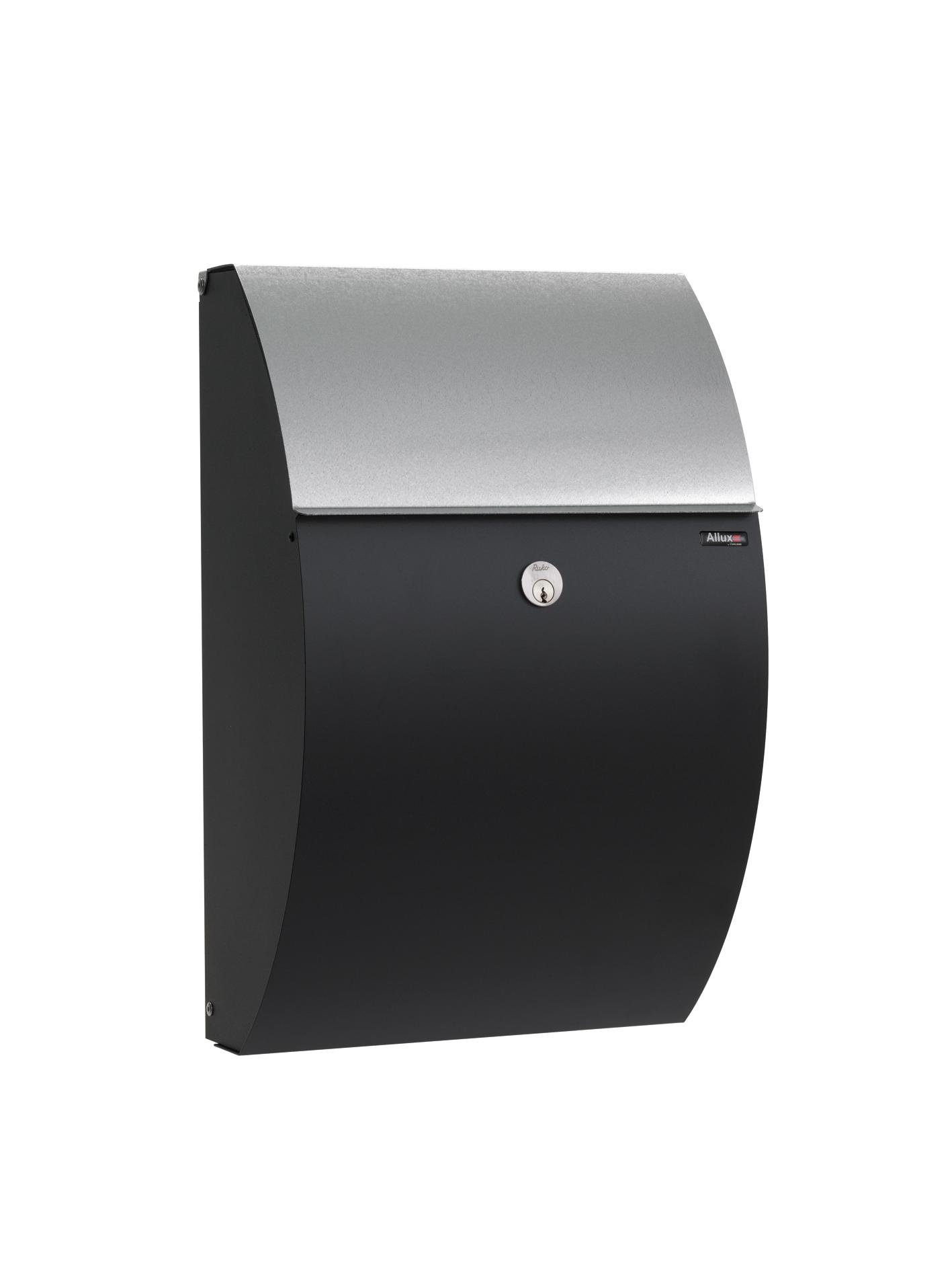 Allux 7000 Locking Wall Mount Mailbox