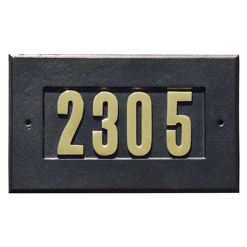 Manchester Address Plates