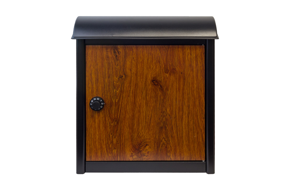 Winfield Leece Wall Mounted Mailbox With Combination Lock