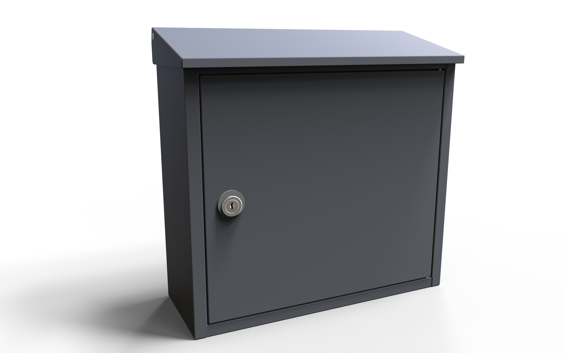 Allux 400 Wall Mount Mailbox