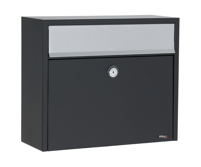Allux LT150 Locking Wall Mount Mailbox