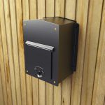 Kingsbury Rear Access Column Mount Mailbox