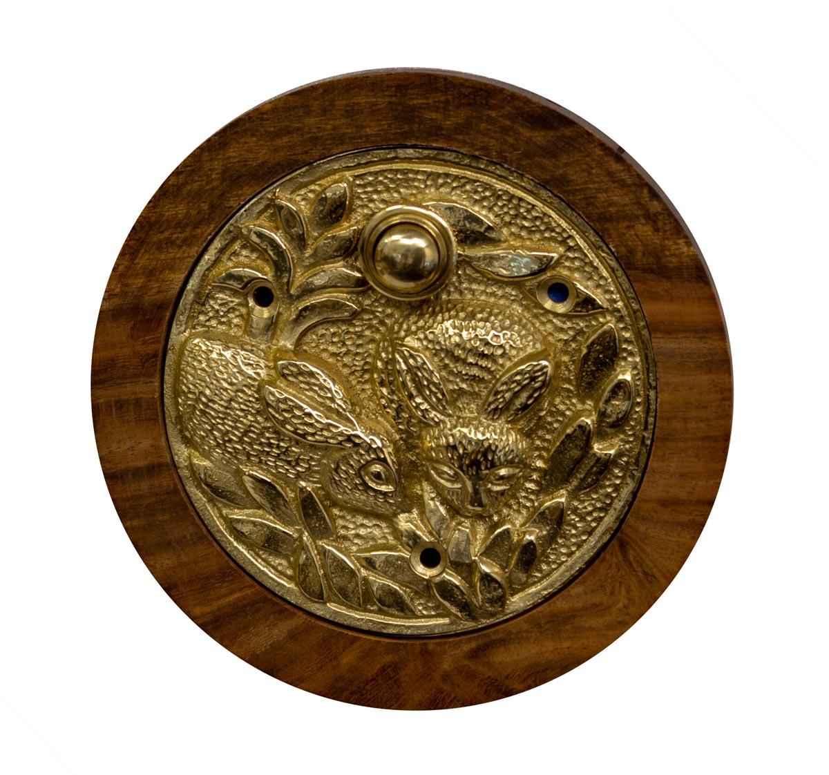 Large Round Decorative Doorbell