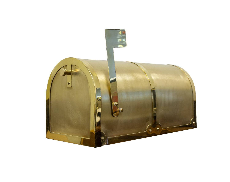 BM-3000 QualArc brass mailbox