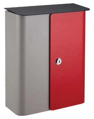 Vista contemporary wall mount mailbox