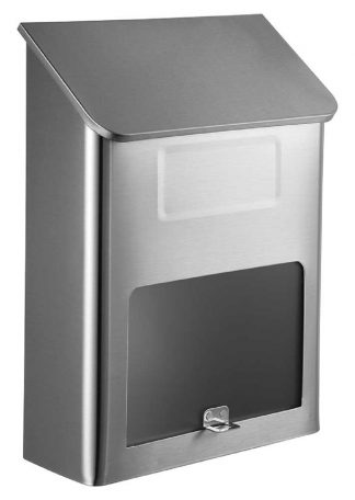 Covina Stainless steel wall mailbox