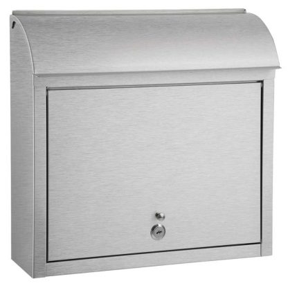 Compton stainless steel wall mount mailbox