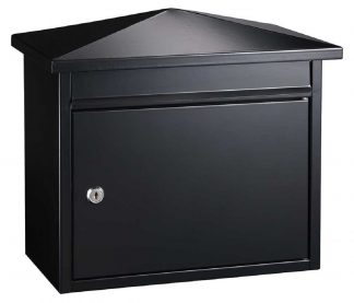 Summit wall mount locking mailbox