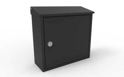 Allux 400 locking wall mailbox