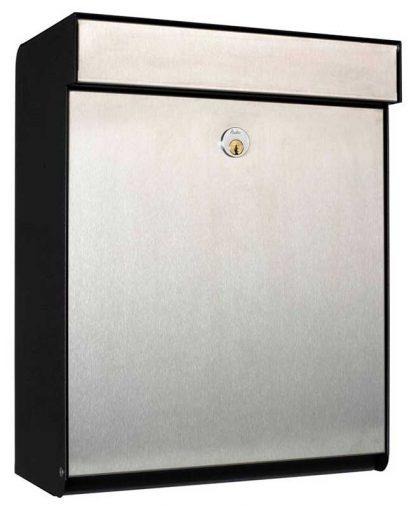 Allux Grandform wall mount locking mailbox
