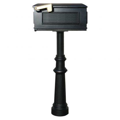 Hanford single box mailbox post system