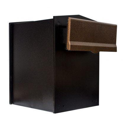 Liberty through wall mailbox