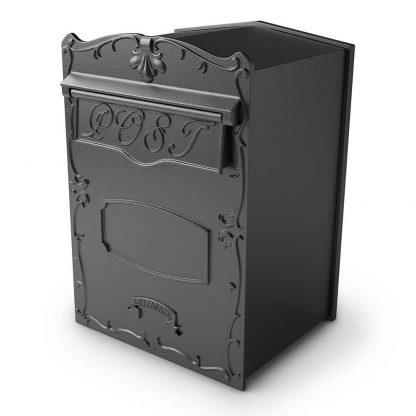 Kingsbury rear retrieval column masonry mailbox