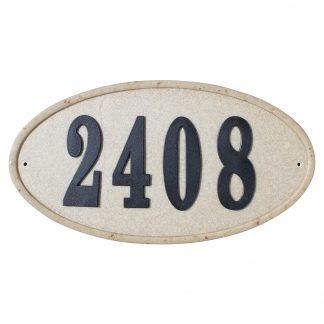 Ridgestone address plaque do it your self kit