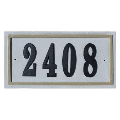 Ridgestone Rectangle DIY address plaque