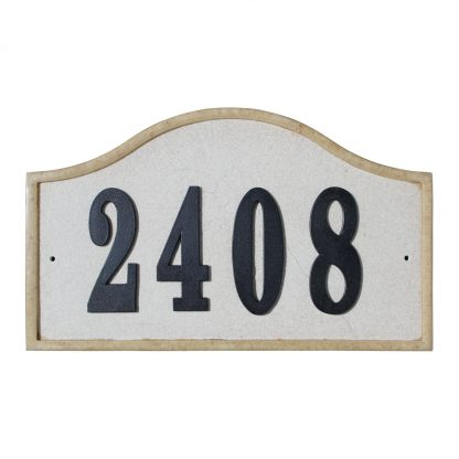 Ridgestone Serpentine Address Plaque