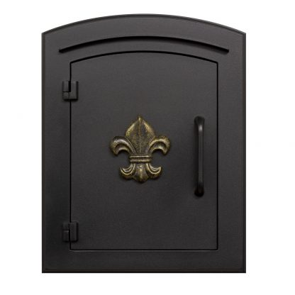 Manchester mailbox black finish