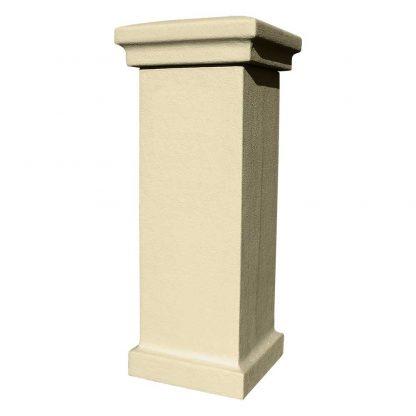 Stucco colum sandstone