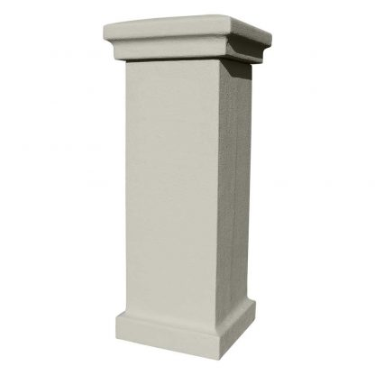 Stucco column gray